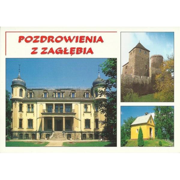 POZDROWIENIA Z ZAGŁĘBIA SOSNOWIEC BĘDZIN DĄBROWA GÓRNICZA 99235
