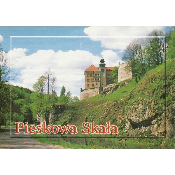 PIESKOWA SKAŁA ZAMEK WIDOKÓWKA 01389