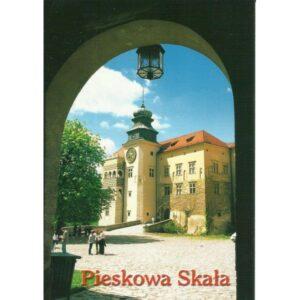 PIESKOWA SKAŁA ZAMEK WIDOKÓWKA 01390