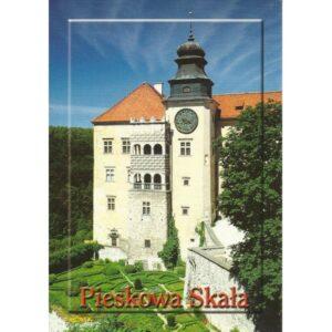 PIESKOWA SKAŁA ZAMEK WIDOKÓWKA 01391