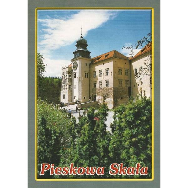 PIESKOWA SKAŁA ZAMEK WIDOKÓWKA 04582