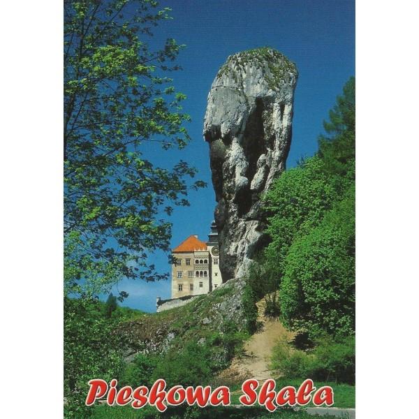 PIESKOWA SKAŁA ZAMEK MACZUGA HERKULESA WIDOKÓWKA 09P153