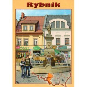 RYBNIK RYNEK MAPKA WIDOKÓWKA 10P203