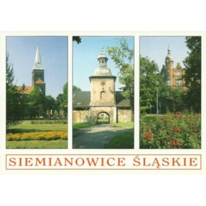 SIEMIANOWICE ŚLĄSKIE WIDOKÓWKA 02454