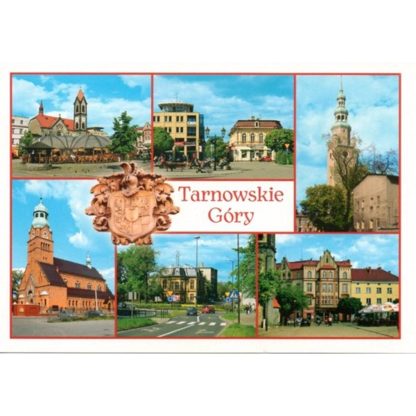 TARNOWSKIE GÓRY HERB WIDOKÓWKA 10P278