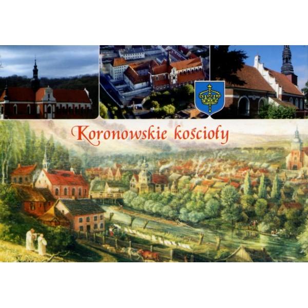 KORONOWO KOŚCIOŁY HERB WIDOKÓWKA WR911