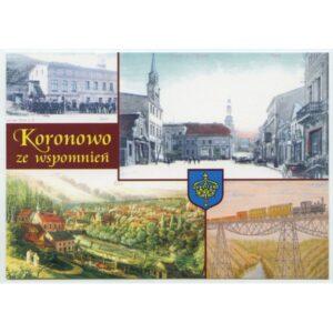 KORONOWO HERB WIDOKÓWKA WR916
