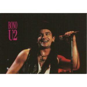 BONO U2 POCZTÓWKA WR217