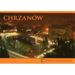 CHRZANÓW HERB WIDOKÓWKA 10P240