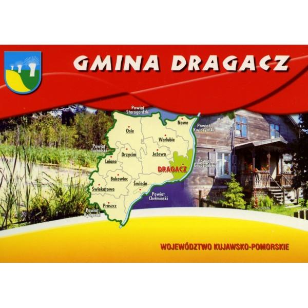 DRAGACZ GMINA HERB MAPKA WIDOKÓWKA WR855