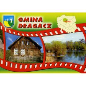 DRAGACZ GMINA HERB MAPKA WIDOKÓWKA WR856