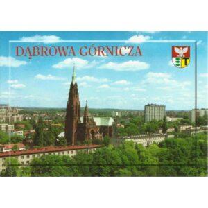DĄBROWA GÓRNICZA KOŚCIÓŁ HERB WIDOKÓWKA 02413