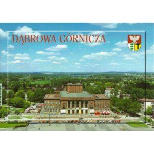 DĄBROWA GÓRNICZA HERB WIDOKÓWKA 02414