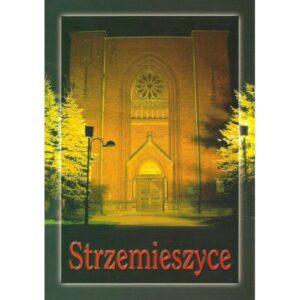 DĄBROWA GÓRNICZA STRZEMIESZYCE KOŚCIÓŁ WIDOKÓWKA 01394