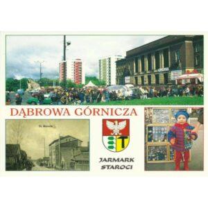 DĄBROWA GÓRNICZA HERB WIDOKÓWKA 99281