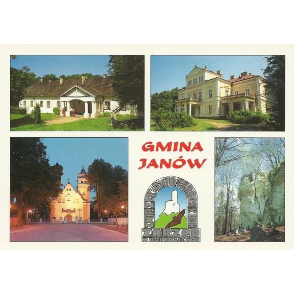 JANÓW GMINA WIDOKÓWKA 97198