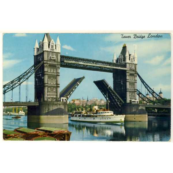 STATEK LONDYN TOWER BRIDGE WIDOKÓWKA A2601