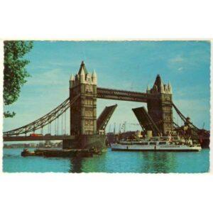 STATEK LONDYN TOWER BRIDGE WIDOKÓWKA A2606