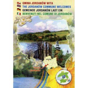 JORDANÓW MAPKA HERB WIDOKÓWKA WR897