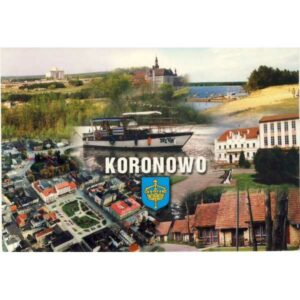 KORONOWO HERB WIDOKÓWKA A1054