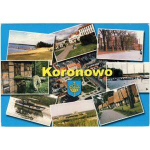 KORONOWO HERB WIDOKÓWKA A1056