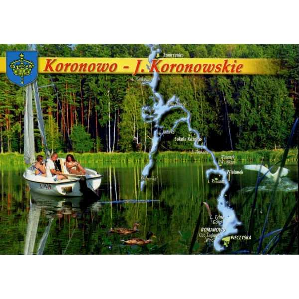 KORONOWO MAPKA HERB WIDOKÓWKA WR909