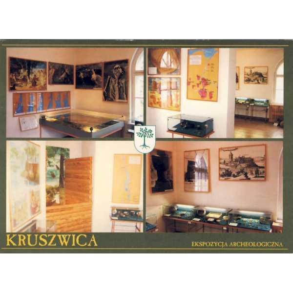 KRUSZWICA HERB WIDOKÓWKA A1462