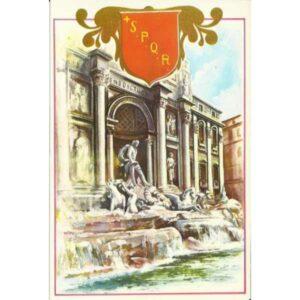 ROMA FONTANA DI TREVI WIDOKÓWKA WR485