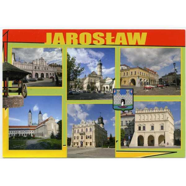 JAROSŁAW HERB WIDOKÓWKA WR1675