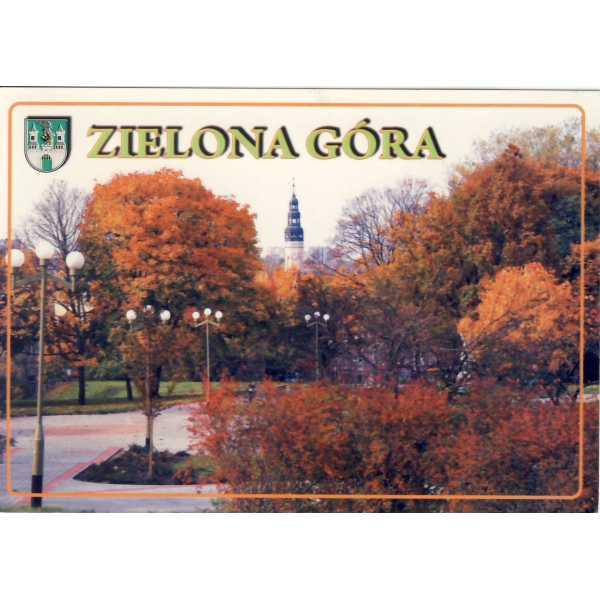 ZIELONA GÓRA HERB WIDOKÓWKA A1217