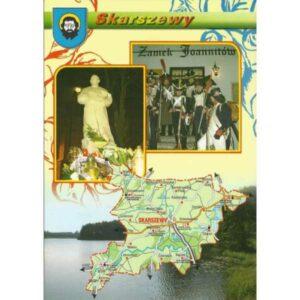 SKARSZEWY MAPKA HERB WIDOKÓWKA WR1173