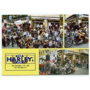 MOTOCYKL PUB HARLEY'S WIDOKÓWKA WR1523