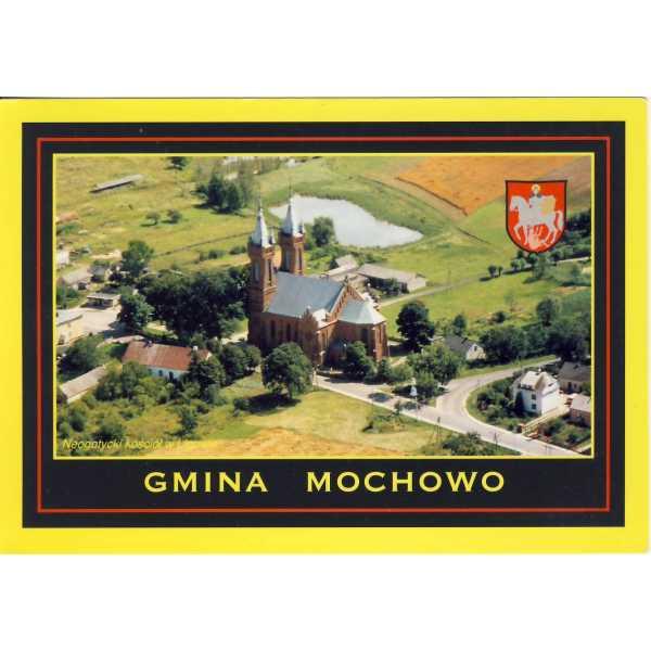 MOCHOWO LIGOWO HERB WIDOKÓWKA A1234