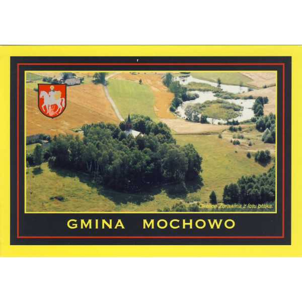 MOCHOWO ŻURAWIN HERB WIDOKÓWKA A1239