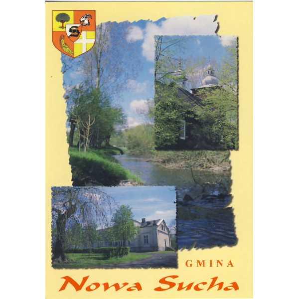 NOWA SUCHA HERB WIDOKÓWKA A1228