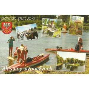 PUŁTUSK POWIAT HERB WIDOKÓWKA A408