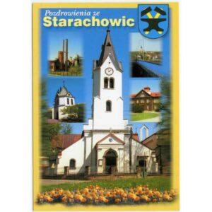 STARACHOWICE HERB WIDOKÓWKA WR1697