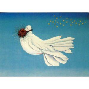 SIGRID SCHADWELL VON SPRECKELSEN PEACE POCZTÓWKA WR1262