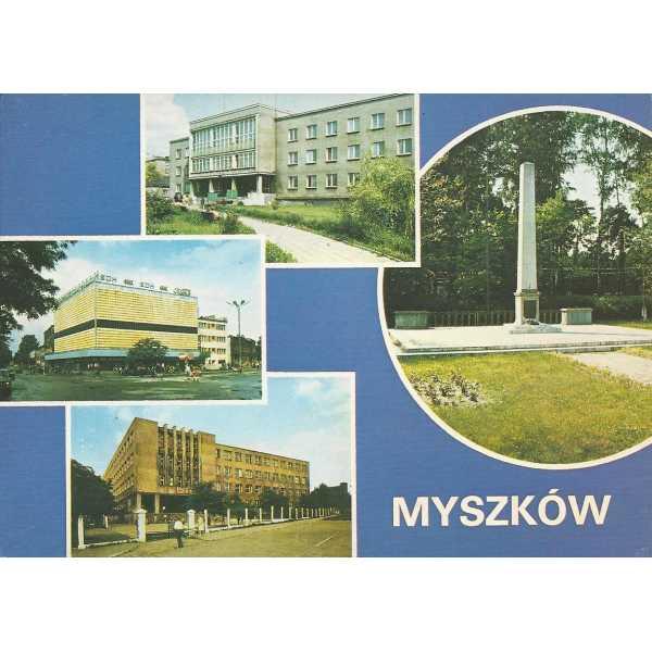 MYSZKÓW WIDOKÓWKA A071