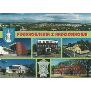 RADZIONKÓW HERB WIDOKÓWKA A456