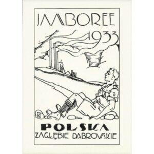 JAMBOREE ZAGŁĘBIE DĄBROWSKIE POCZTÓWKA A087