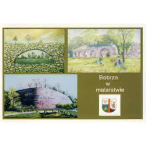 BOBRZA HERB WIDOKÓWKA A1092
