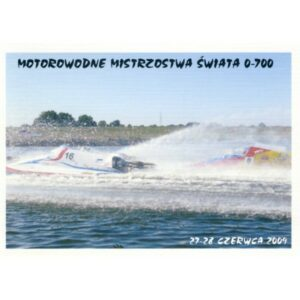 MOTOROWODNE MISTRZOSTWA ŚWIATA ŚREM 2009 WIDOKÓWKA A1179