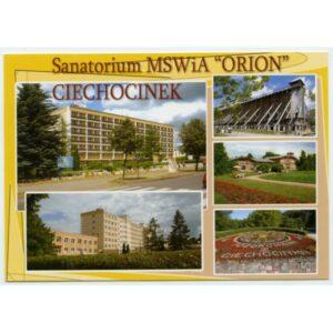 """CIECHOCINEK SANATORIUM MSWIA """"ORION"""" WIDOKÓWKA WR1723"""