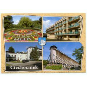 CIECHOCINEK HERB WIDOKÓWKA WR1728