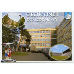 CIECHOCINEK HERB WIDOKÓWKA WR1729