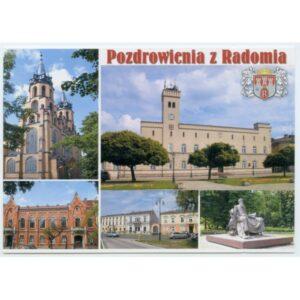 RADOM HERB WIDOKÓWKA WR1761