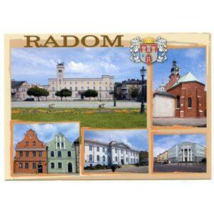 RADOM HERB WIDOKÓWKA WR1764
