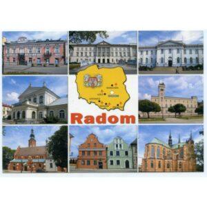 RADOM HERB MAPKA WIDOKÓWKA WR1769