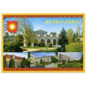 BUSKO-ZDRÓJ HERB WIDOKÓWKA WR1790